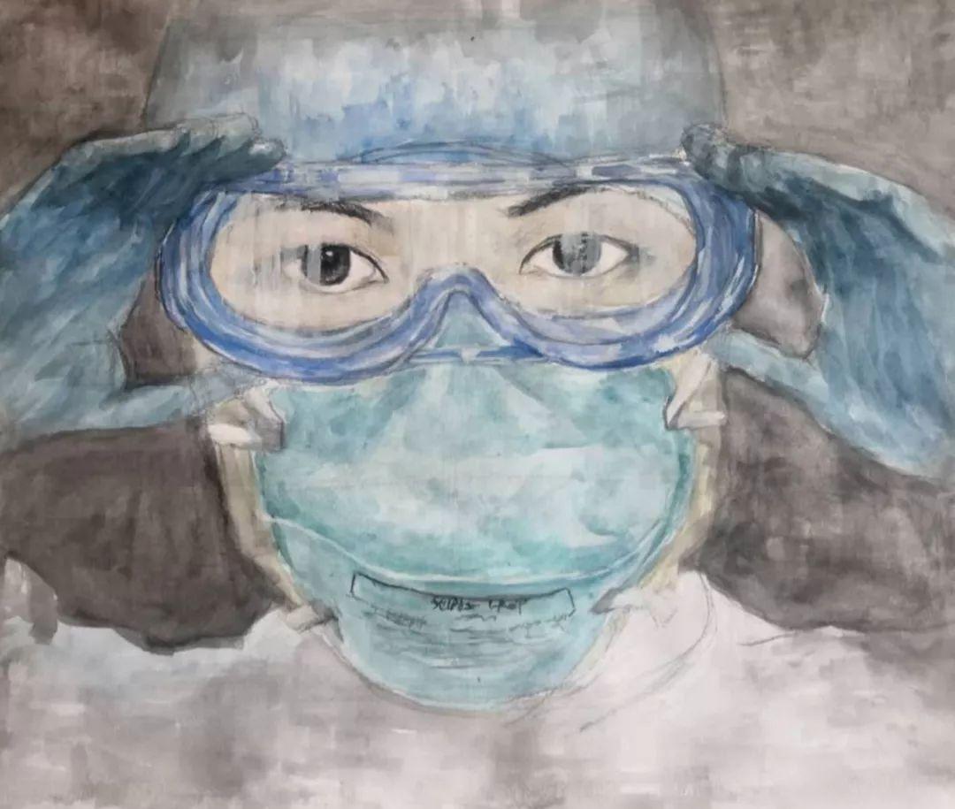 武汉市妇幼保健_鹤山少年暖心绘画为抗击疫情加油!_直播江门